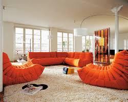 Orange Sofa Living Room by Togo Sofa Nice For Home Performance And Safe For Kids Hupehome