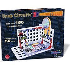 snap circuits lights electronics discovery kit amazon com snap circuits 3d illumination electronics discovery kit