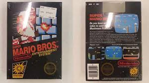 sealed copy super mario bros fetches 30k ebay