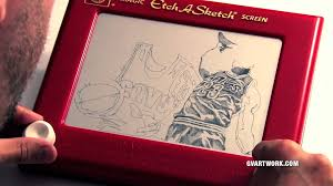2015 nba finals lebron james etch a sketch youtube