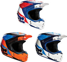 fox helmets motocross 2016 fox racing v1 mako helmet motocross dirtbike mx atv ece dot