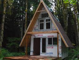 a frame cabin designs cabinbuilds net a frame cabin build by jeremy165 homemadetools net