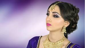 bridal makeup artist websites asian indian bridal makeup tutorial purple smokey