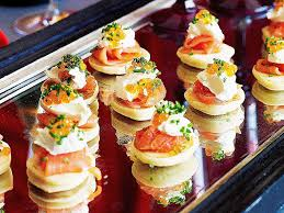 posh canapes recipes posh canapes recipes fresh blinis with smoked salmon recipe hd