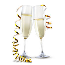 new years chagne glasses new year clipart chagne bottle glass pencil and in color new