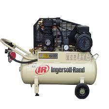 electric reciprocating air compressor 7cfm 10 amp ingersoll