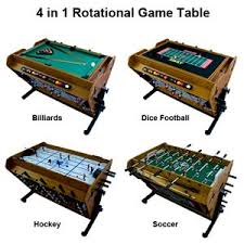 4 in one game table park sun 4 in 1 rotation game table gt 411 m42 playground