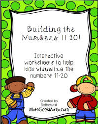 numbers 11 20 interactive worksheets math geek mama