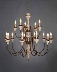 15 light chandelier industrial chandelier 15 light duo layer vintage industrial
