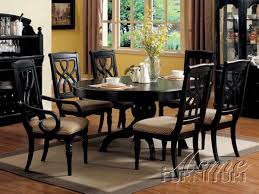 Nice Inspiration Ideas Black Dining Room Table All Dining Room - Dining room tables black