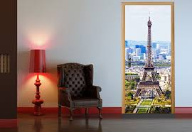 Eiffel Tower Wallpaper For Walls Peel And Stick Door Wall Mural Eiffel Tower In Paris Photo