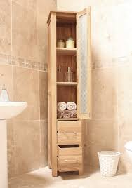 bathroom cabinets cool oak bathroom storage cabinet small home