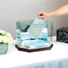 wedding gift card box gift card box octagon large