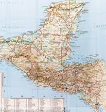 America Central Map by Map Of Central America U0026 Mexico Reise Know How U2013 Mapscompany