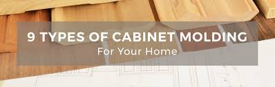 Kitchen Cabinet Moldings 9 Types Of Molding For Your Kitchen Cabinets
