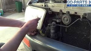 replace 1996 2002 toyota 4runner headlight bulb how to change