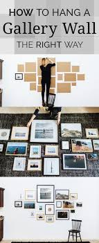 ideas for displaying pictures on walls how to hang a gallery way the right way galleries gallery wall