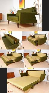 Folding Bed Sofa Mid Century Modern Sofa Bed Folding Bed Small Apartment