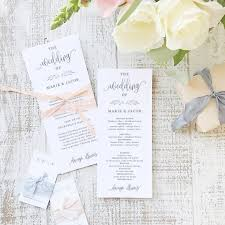 wedding program paper stock 84 best everly compatible printable wedding templates images on