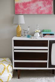 mid century changing table mid century modern dresser makeover place of my taste