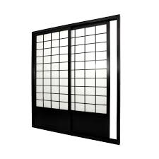 rustic room divider oriental furniture shoji door sliding kit room divider the mine