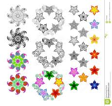 spring flowers on a white background cartoon flower floral