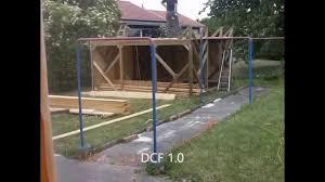 tonnelle en bambou en 3 minutes la construction d u0027une cabane en bois youtube