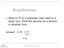 changing decimals to fractions ppt video online download