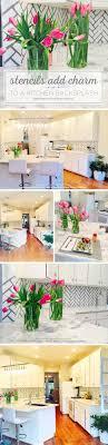kitchen stencils designs stencils for kitchens kitchen design ideas