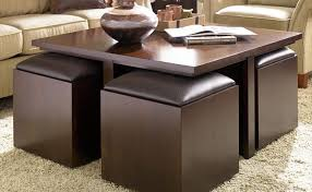 coffee tables cool coffee table with ottomans design awesome