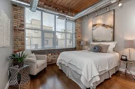 bedrooms stunning industrial bedroom with white bed and small