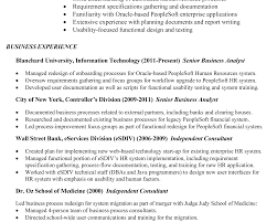 Resume Sample Business Analyst by Cover Letter Business Analyst Role