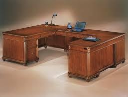 Cherry Wood Desk U Shaped Desk Home Painting Ideas