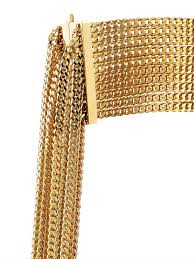 gold multi chain bracelet images Lyst chlo delfine multi chain bracelet in metallic jpeg
