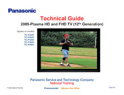 download free pdf for panasonic viera tc p50v10 tv manual