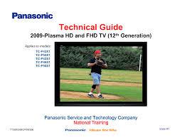 download free pdf for panasonic viera tc p50v10 tv manual