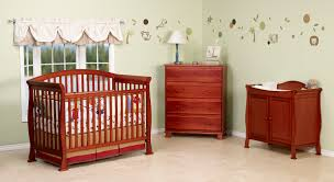 Convertible Crib Set Davinci Thompson Crib Set In Cherry