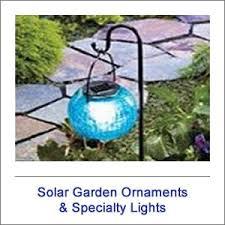 solar garden ornaments specialty lights shop solar