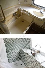 rv bathroom remodeling ideas best 25 airstream bathroom ideas on vintage cer