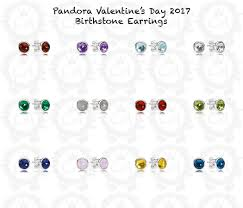s birthstone earrings 45 pandora birthstone earrings april pandora silver may