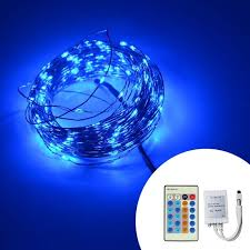 led christmas lights with remote control remote control dimmable christmas lights 8 colors 20m 200 led copper