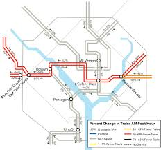 Metro Dc Map Silver Line by Orange Silver Line Surge Will Greet Returning Commuters Wtop