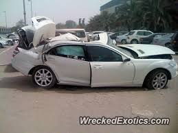 mercedes amg s500 mercedes s500 amg wrecked in musaffah united emirates