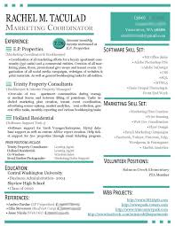 sample resume for marketing coordinator 21 best resume images on pinterest resume marketing resume and
