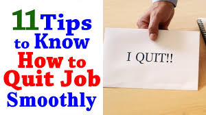 Resume Job Quit by How To Quit A Job 11 Tips To Quit Your Job Professional Career