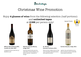 christmas wine christmas wine promotion extended backstage live restaurant