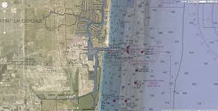 Fort Lauderdale Map Geogarage Blog Maps Provide Another View Of South Florida History
