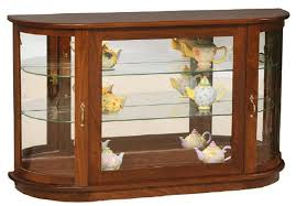 curio display cabinet plans brilliant console curio cabinet from dutchcrafters amish furniture