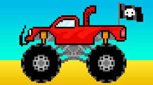 bigfoot presents meteor and the mighty monster trucks monster trucks cartoon street vehicles names for kids learn