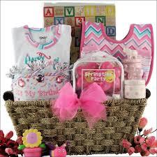 birthday baskets for baby s 1st birthday basket girl